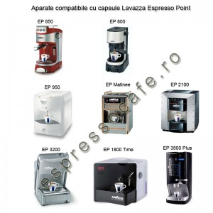 aparate compatibile lavazza espresso point