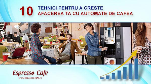 10 tehnici-afacere automate de cafea