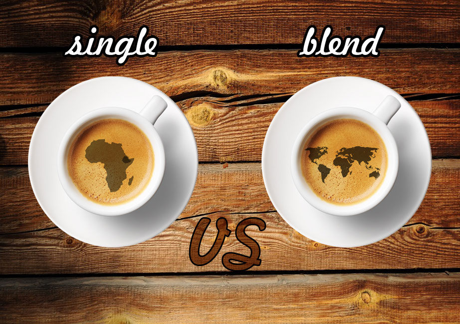 cafea single origin vs cafea blend