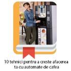 10 tehnici automate cafea