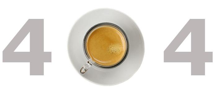 eroare 404 cafea de negasit