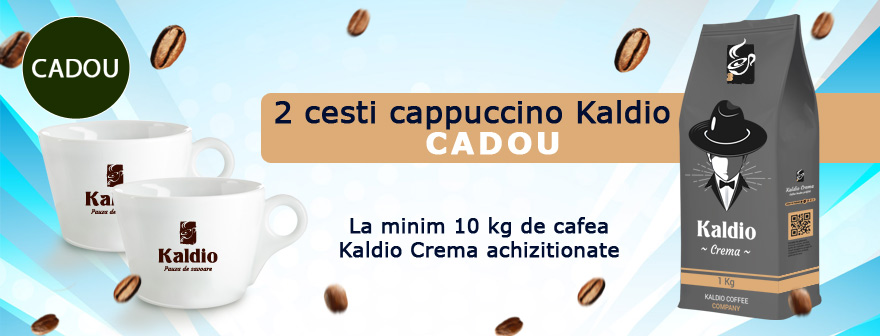 cesti cadou la cafea Kaldio