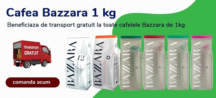 oferta transport gratuit cafea bazzara