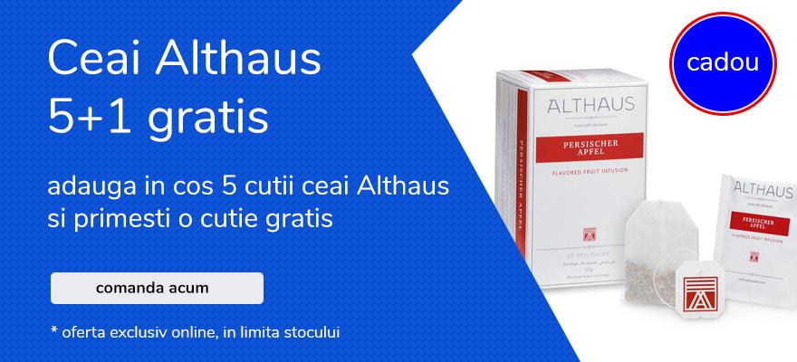 oferta ceai althaus 5+1 gratis