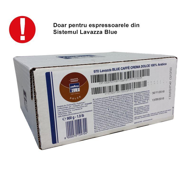 Capsule Lavazza Blue Crema Dolce cutie 100 buc