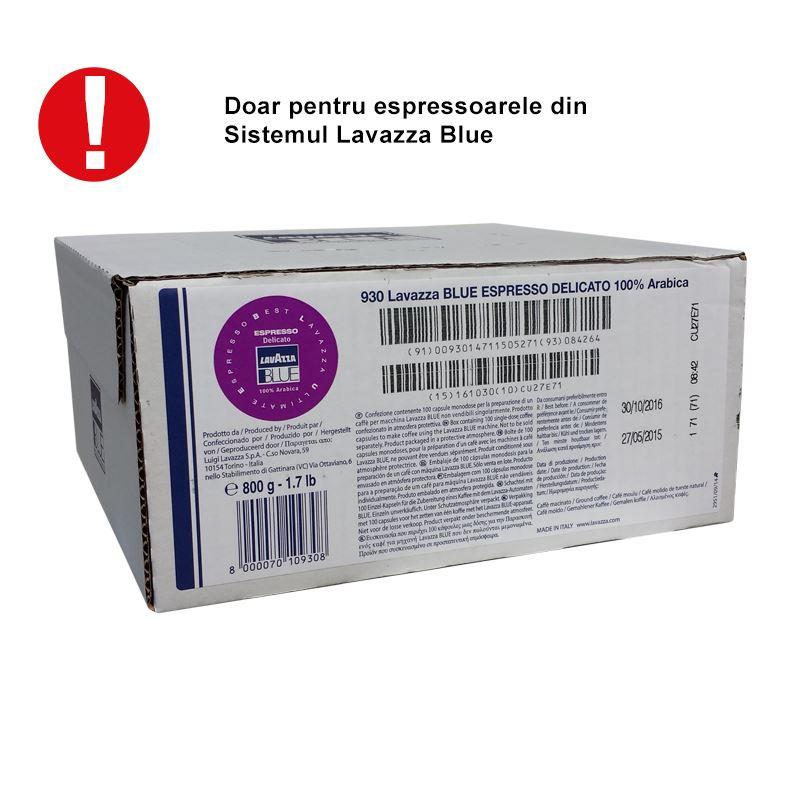 Capsule Lavazza Blue Delicato cutie 100 buc