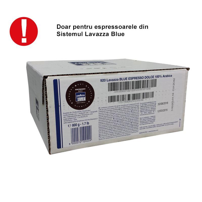Capsule Lavazza Blue Dolce cod 920 cutie 100 buc