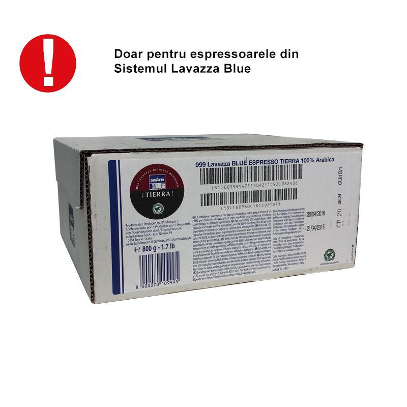 Capsule Lavazza Blue Tierra cutie 100 buc