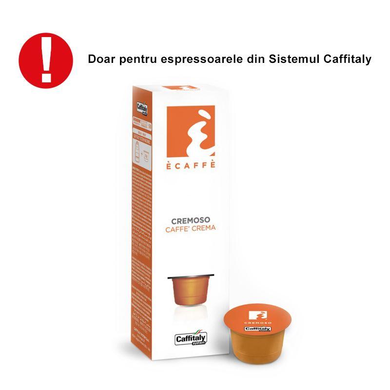 E-Caffe Cremosso capsule 10 buc
