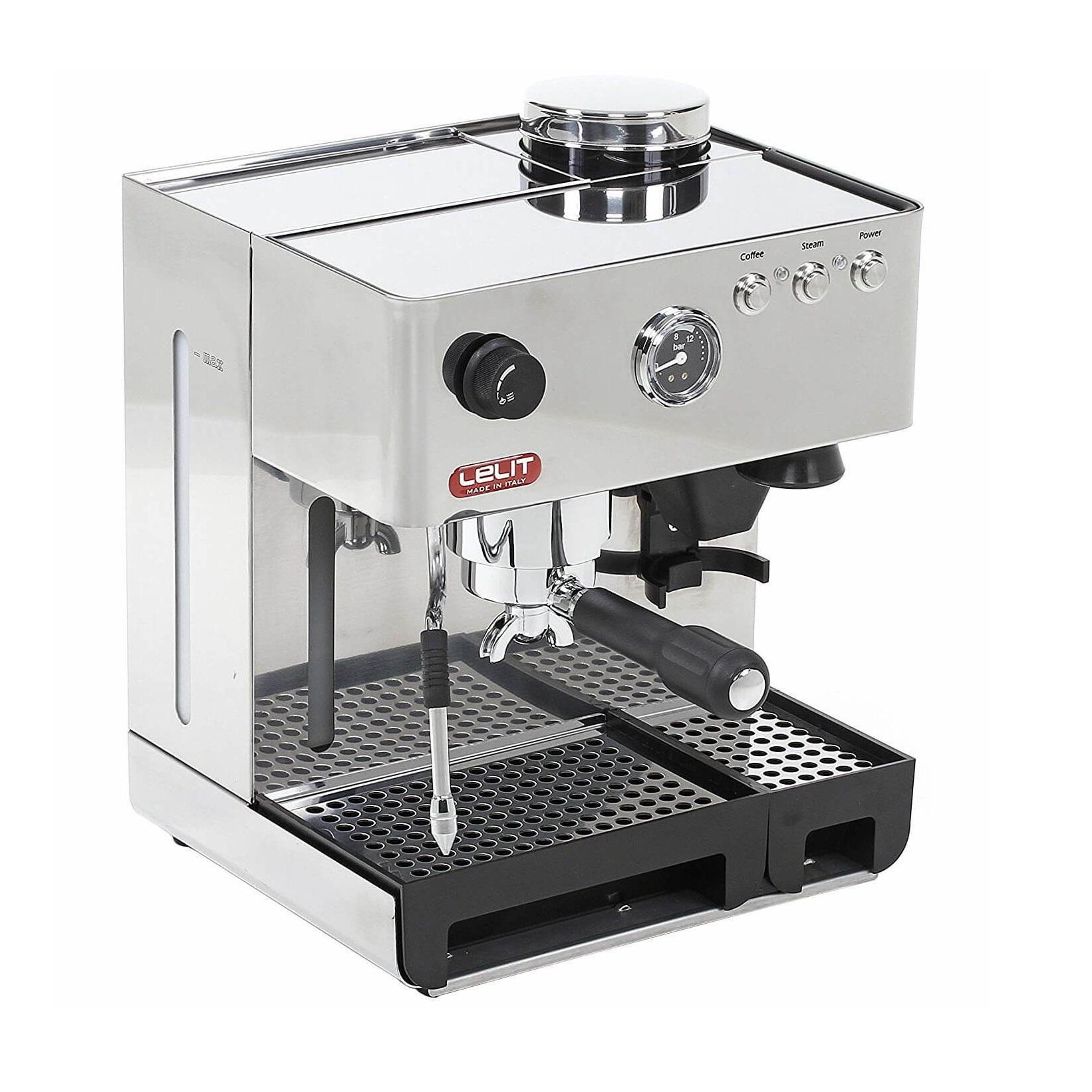 Espressor manual Lelit PL 42 EMI, 1200 W, 2.7 L, 15 bar, rasnita, manometru