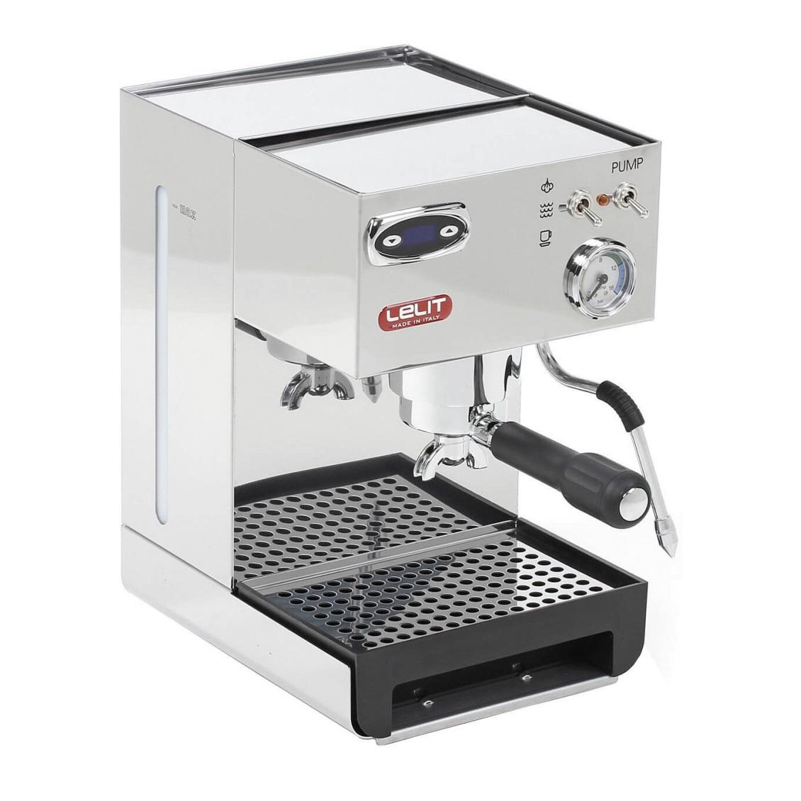 Espressor manual Lelit PL 41 TEM, 1050 W, 2.7 L, 15 bar, manometru, PID