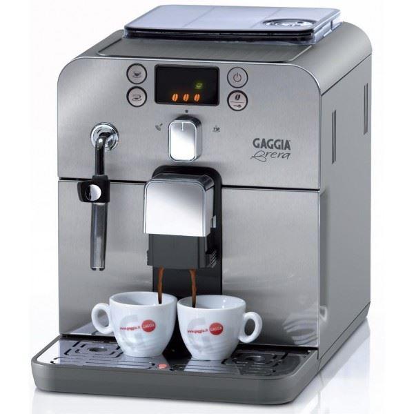 Espressor Gaggia Brera Silver+cadou cafea 500g si decalcifiant Gaggia