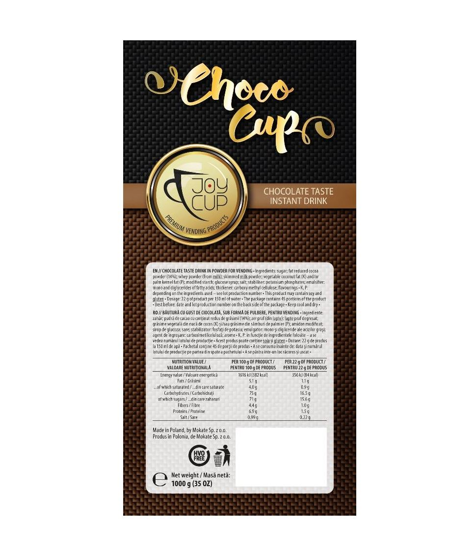 Joy Cup ciocolata instant 1 kg