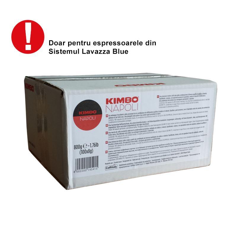 Kimbo Napoli-capsule compatibile Lavazza Blue 100 buc