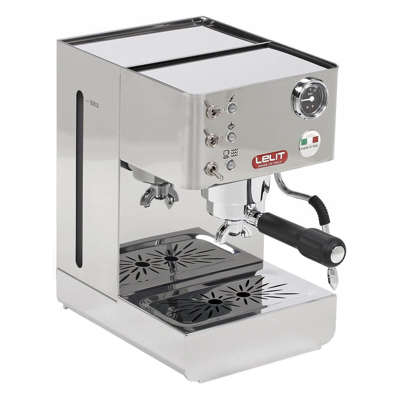 Espressor Lelit PL 41 LEM, 1050 W, 2 L, 15 bar, manometru