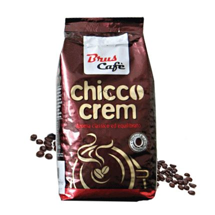 Brus Chicco Crem cafea boabe 1 kg
