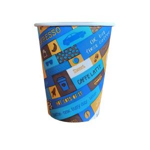 Caleidoscop 8oz pahare carton 220 ml bax 1000 buc
