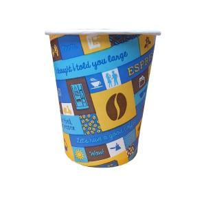 Caleidoscop pahare carton 170 ml bax 2250 buc