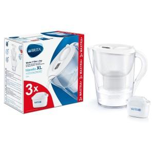 Cana filtranta Brita Marella XL Starter Pack 3,5 l, 3 filtre Maxtra+ BR1040212