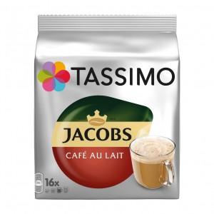 Capsule cafea Jacobs Tassimo Cafe au lait 16 buc