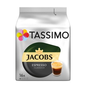 Capsule cafea Jacobs Tassimo Espresso Classico 16 buc