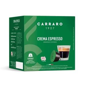 Carraro Crema Espresso capsule compatibile Nescafe Dolce Gusto 16 buc