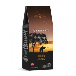 Carraro Ethiopia Yrga Cheffe cafea macinata 250g