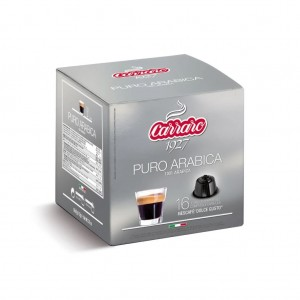 Carraro Puro Arabica capsule compatibile Nescafe Dolce Gusto 16 buc