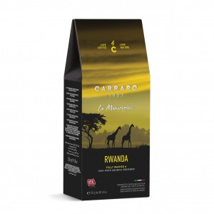 Carraro Rwanda Fully Washed A cafea macinata 250g