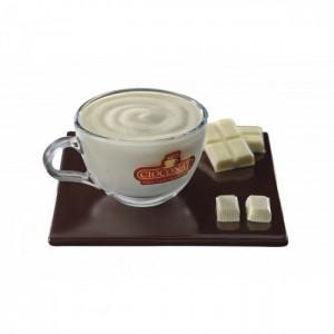 Cioconat Ciocolata densa alba plic 28g