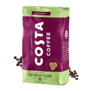 Costa Bright Blend cafea boabe 1kg