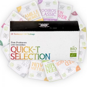 Demmers Selection Kit Quick-T ceai aromat cutie 24 plic asortate