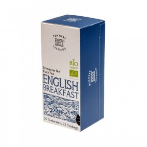 Demmers English Breakfast Bio Quick-T ceai aromat cutie 25 plicuri