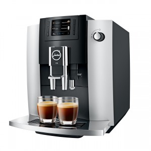 Espressor automat Jura E6 Platin, 1,9 l, 280g, rasnita AromaG3, afisaj TFT