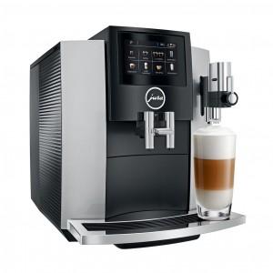 Espressor Jura S8 Professional Aroma Moonlight Silver, 1.9 l, 280g, 15 specialitati One Touch, Touchscreen+ cadou cafea