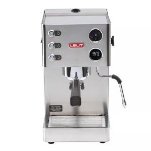 Espressor manual Lelit VIP PL 91 T, 1000 W, 2.7 L, 15 bar, manometru, PID, cadou tamper Motta