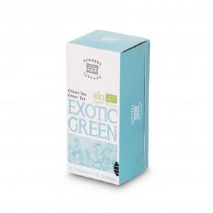 Demmers Exotic Green Bio Quick-T ceai verde cutie 25 plic
