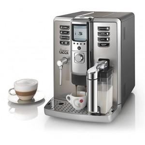 Espressor automat Gaggia Academia, 15 bari, 1.6 l, 350g, display color, carafa de lapte, cadou cafea