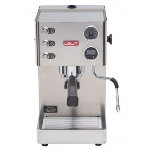Espressor manual Lelit VIP PL 81T, 1000 W, 2.7 L, 15 bar, manometru, PID