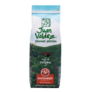 Juan Valdez Santander cafea boabe de origine 500g