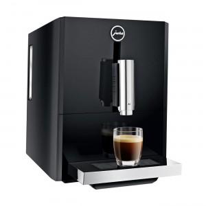 Espressor automat Jura A1, 15 bari, 1.1 l, 125g, rasnita AromaG3, Touch Panel, Negru