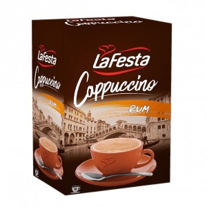 La Festa Cappuccino Rom cutie 10 plic