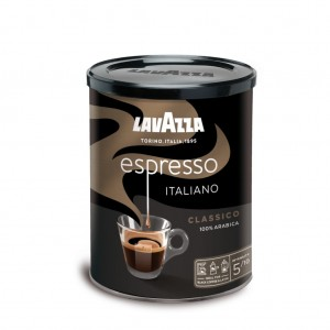 Lavazza Espresso Italiano Classico cafea macinata 250g cutie metalica