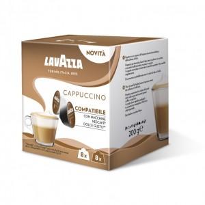Lavazza Cappuccino capsule compatibile Nescafe Dolce Gusto cutie 16 buc