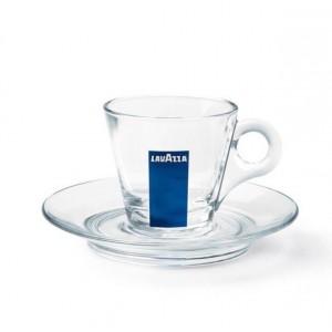 Cesti sticla espresso Lavazza set 12 buc