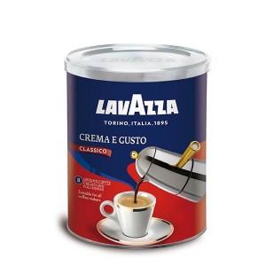 Lavazza Crema e Gusto macinata cutie metalica 250g