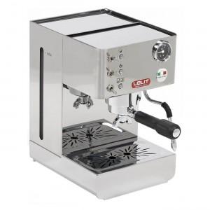 Espressor manual Lelit PL 41 LEM, 1050 W, 2 L, 15 bar, manometru