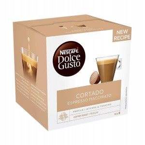 Nescafe Dolce Gusto Cortado Espresso Macchiato capsule 16 buc