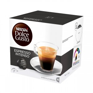 Nescafe Dolce Gusto Espresso Intenso capsule 16 buc