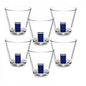 Lavazza pahare sticla medii 320 ml set 12 buc